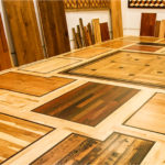 choosing hardwood flooring - samples of hardwood flooring