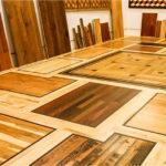 choosing hardwood flooring - samples of hardwood flooring