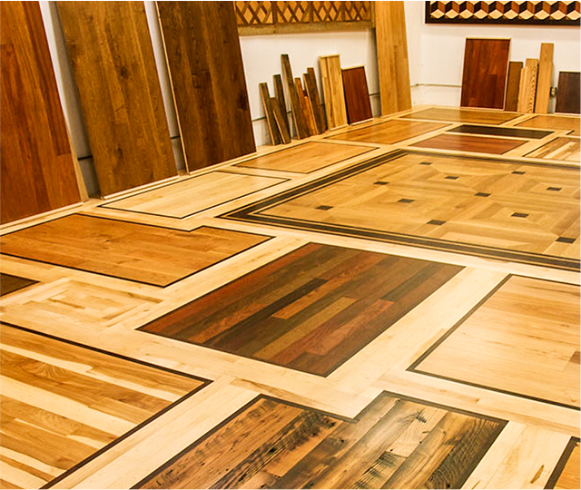 Choosing Hardwood Flooring Samples Of