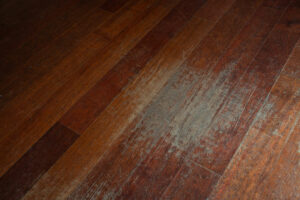 repair damaged hardwood floor